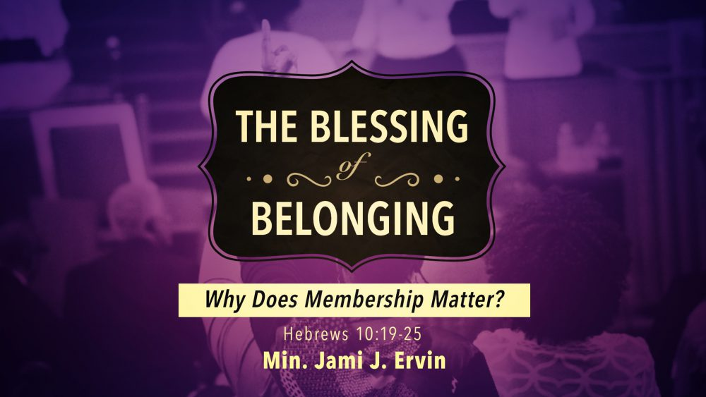 The Blessing of Belonging Image