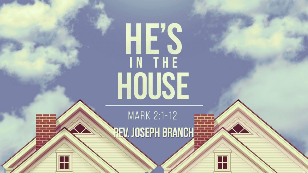 He\'s In The House (Second Service) Image