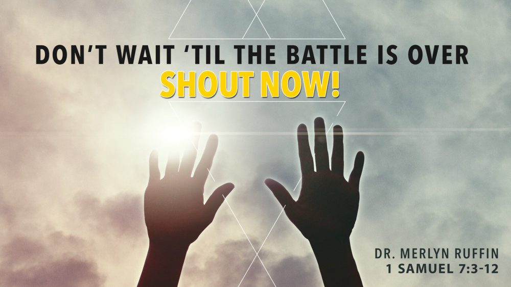 Don\'t Wait... Shout Now! Image