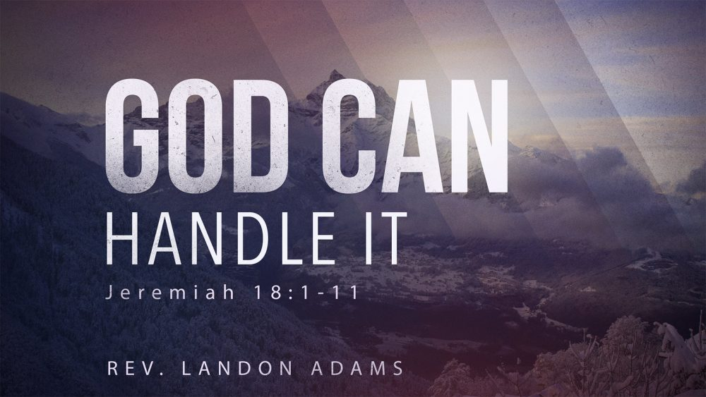 God Can Handle It Image