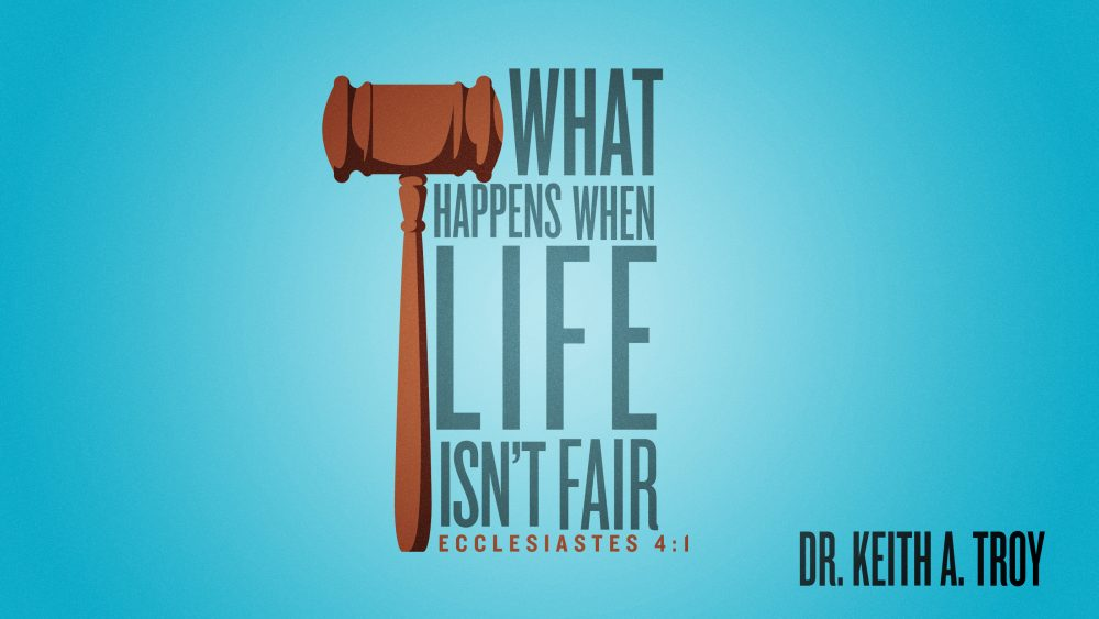 What Happens When Life Isn\'t Fair Image