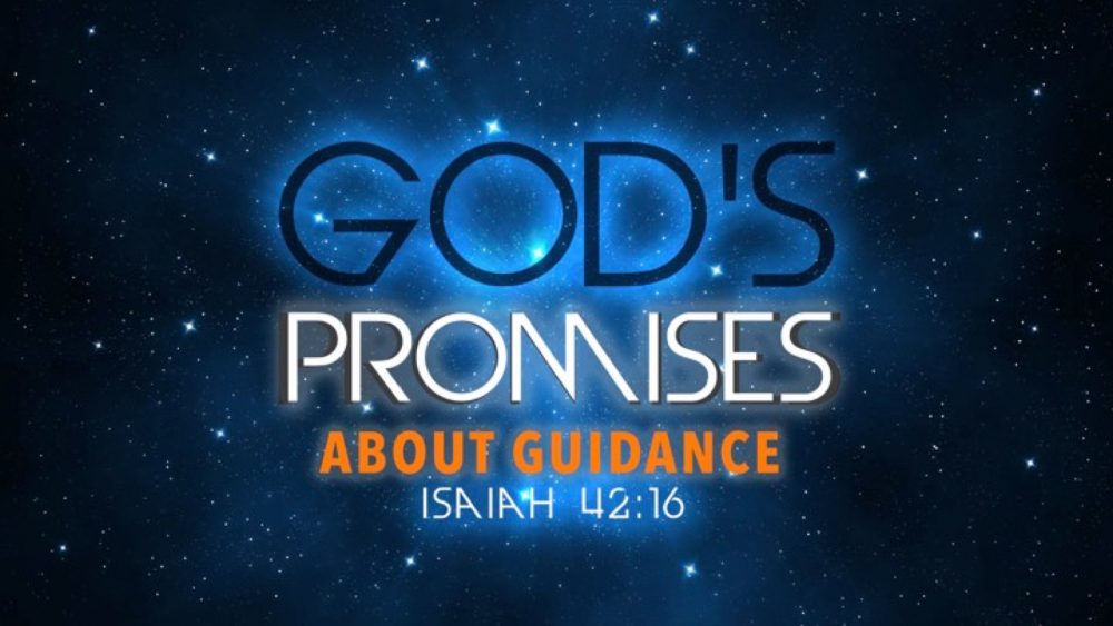 God\'s Promises About Guidance Image