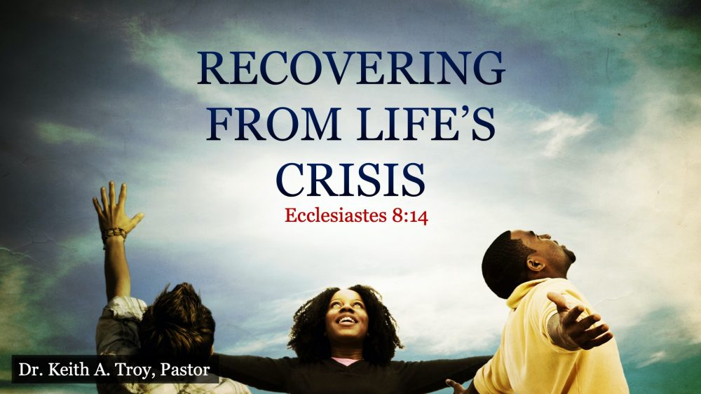 Recovering From Life\'s Crisis Image